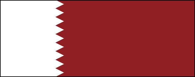 カタール(英語表記)Qatar