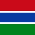 ガンビア(英語表記)The Gambia
