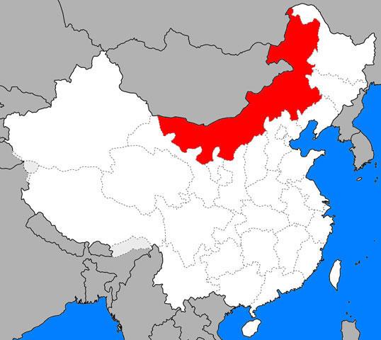 内モンゴル自治区(ウチモンゴル...