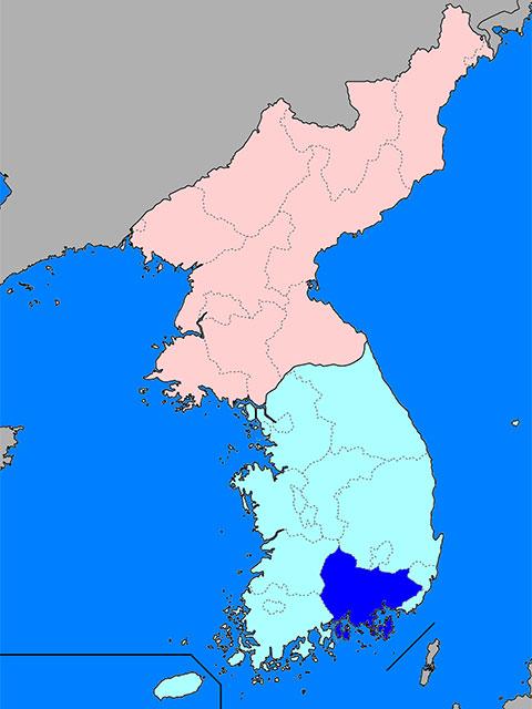 慶尚南道(キョンサンナムド)とは...