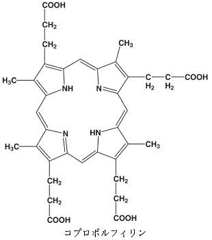 コプロポルフィリンとは - コト...