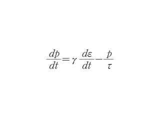 マクスウェルの方程式(粘弾性)とは - コトバンク