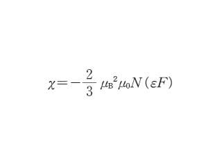 ランダウ反磁性