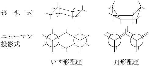 シクロヘキサン 椅子 型