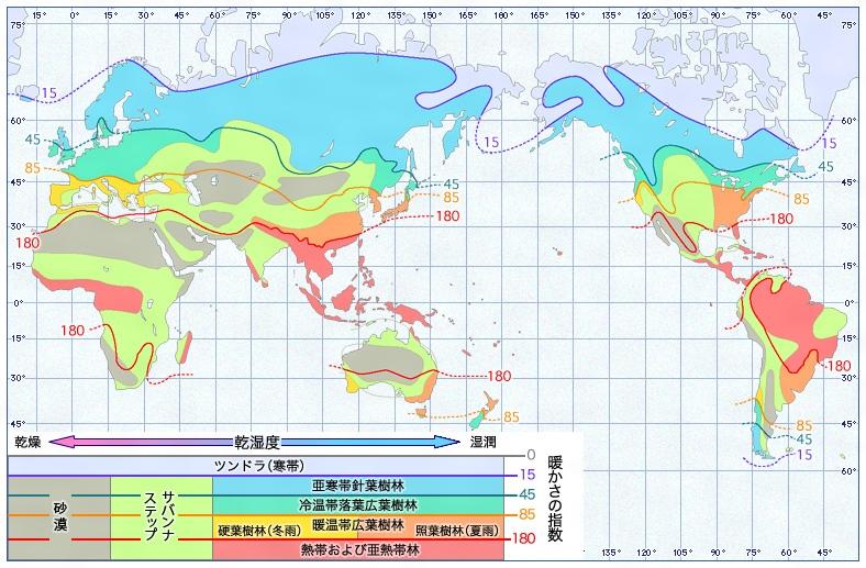 気候区分 (キコウクブン)とは ... : 平均の問題 : すべての講義