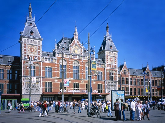 セントラルストリートのアムステルダム