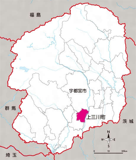 上三川(町)(かみのかわ)とは - コトバンク