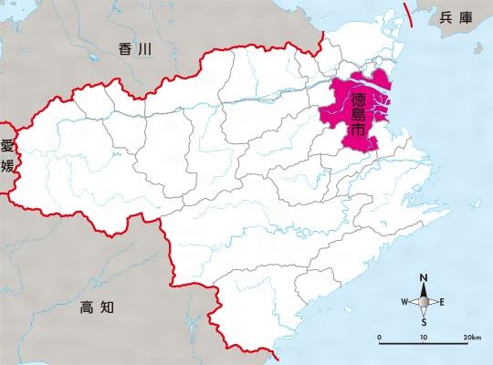 徳島(市)(とくしま)とは - コトバンク