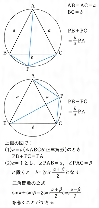 定理 トレミー の トレミーの定理の証明~3~