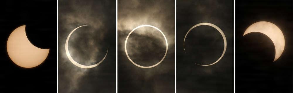 日食(読み)にっしょく(英語表記)solar eclipse